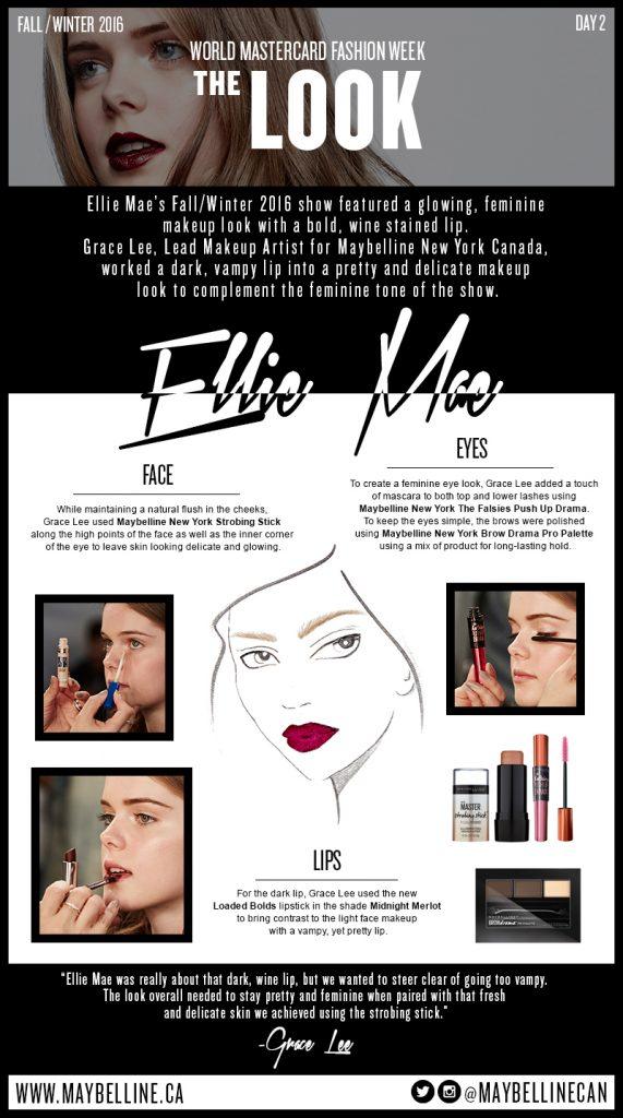 Fashion Week Trends - Dark Lips via Maybelline New York Canada