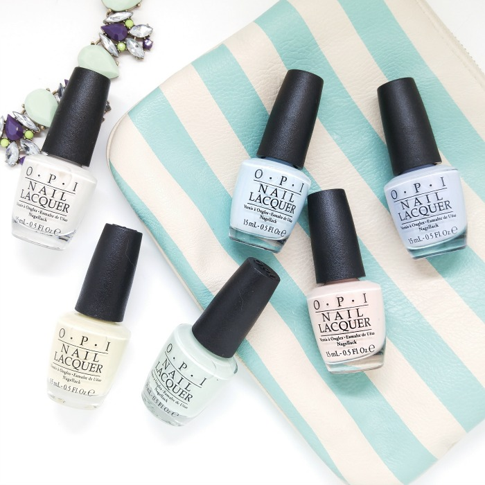 OPI SoftShades Pastels 2016 // Toronto Beauty Reviews