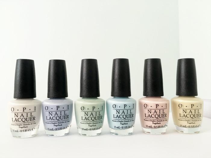 OPI SoftShades Pastels 2016 // Toronto Beauty Reviews
