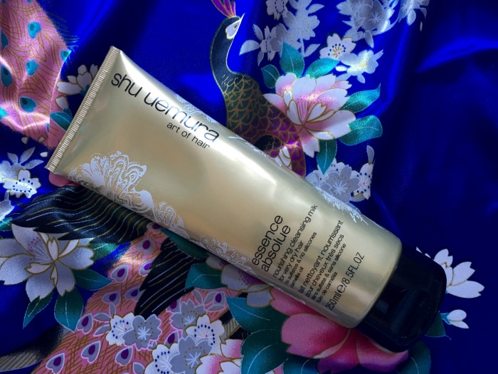 Shiny + Hydrated Hair with Shu Uemura Nourishing Cleansing Milk