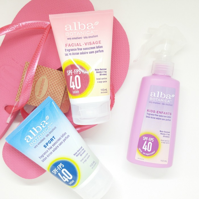 Alba Botanica Sunscreen // Toronto Beauty Reviews