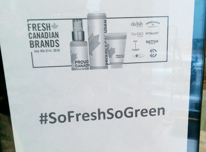 Pure + Simple Fresh Canadian Brands Event // Toronto Beauty Reviews