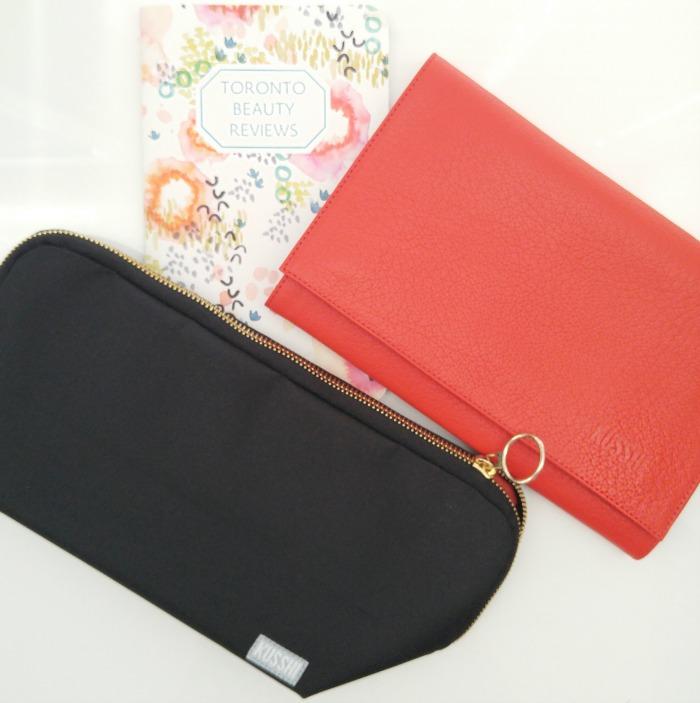 Kusshi Makeup Bags // Toronto Beauty Reviews