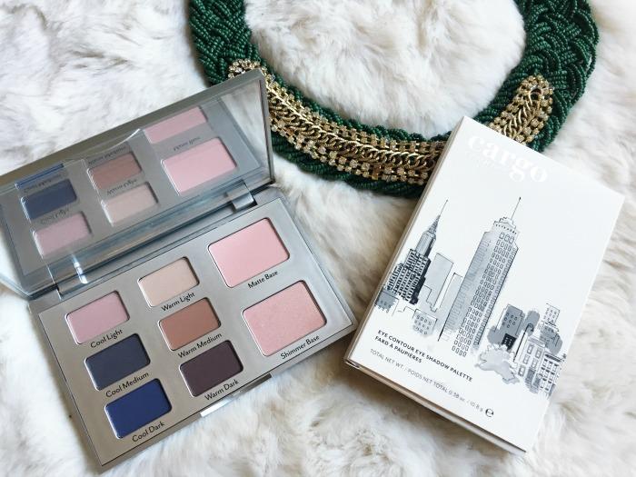 Cargo Cosmetics Eye Contour Eye Shadow Palette // Toronto Beauty Reviews