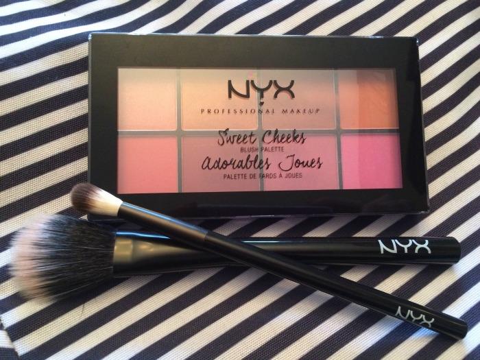 NYX Sweet Cheeks Blush Palette // Toronto Beauty Reviews