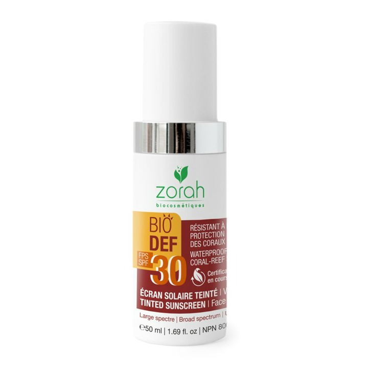 Zorah Tinted Sunscreen – Perfect for End of Summer Days