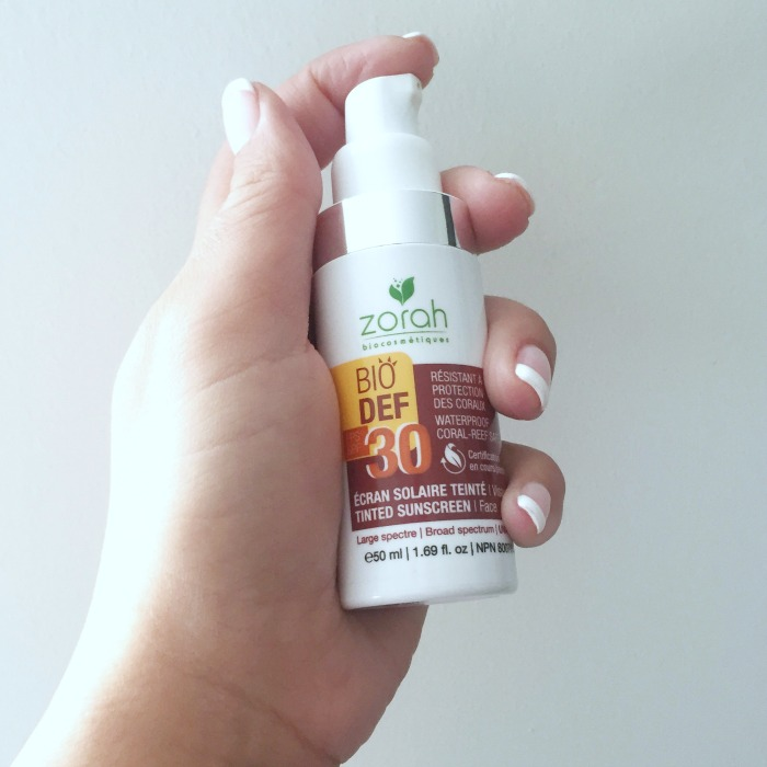 Zorah Tinted Sunscreen | Toronto Beauty Reviews