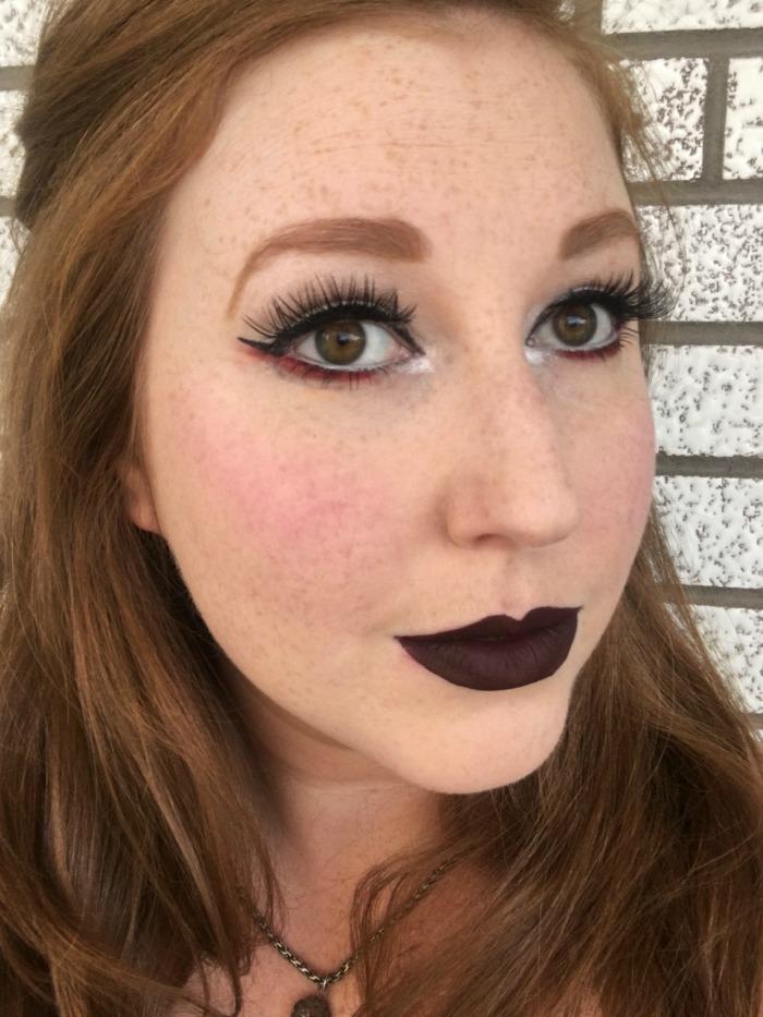 Halloween Inspired Makeup   Toronto Beauty Reviews