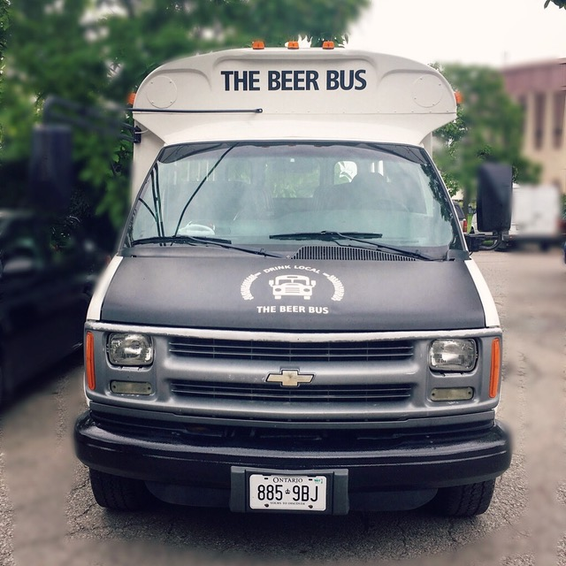 Holiday Parties Aboard the Beer Bus!