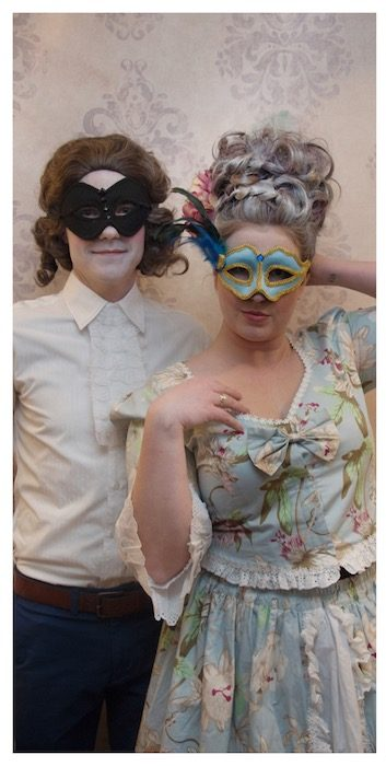 Marie Antoinette Theme Party Activities Photo Booth | Toronto Beauty Reviews
