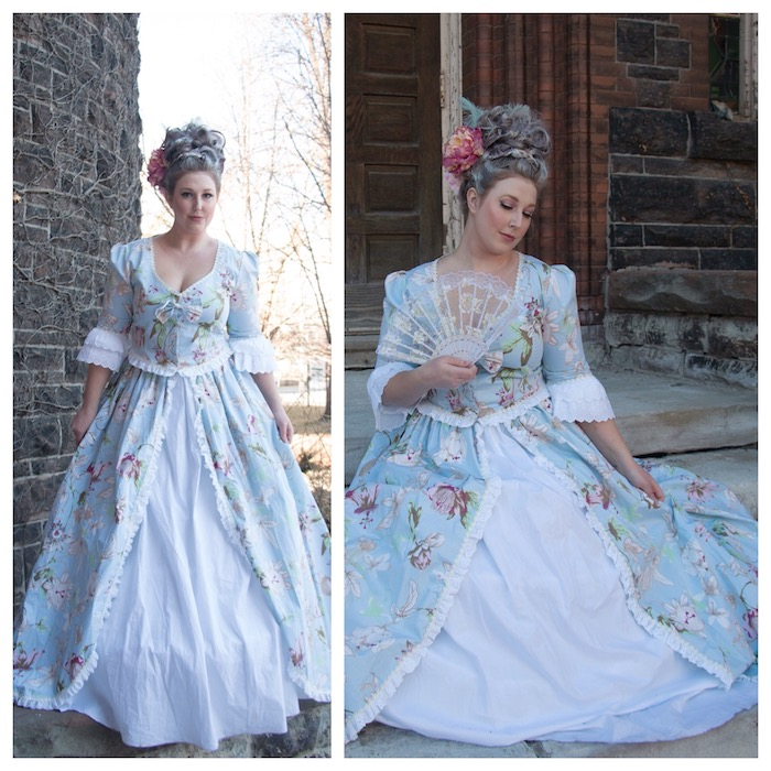 Marie Antoinette Theme Party Costume | Toronto Beauty Reviews