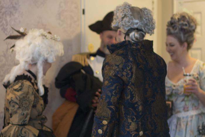 Marie Antoinette Theme Party Guest Photos