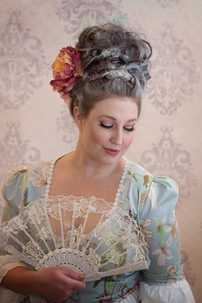 Marie Antoinette Theme Party Portrait | Toronto Beauty Reviews