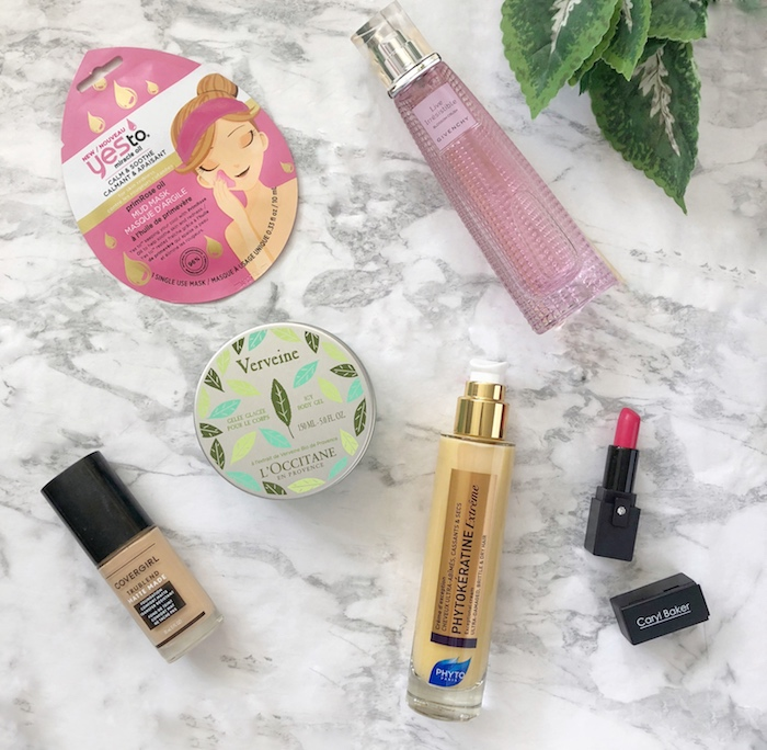 Maddie's Favourite Products for August 2018