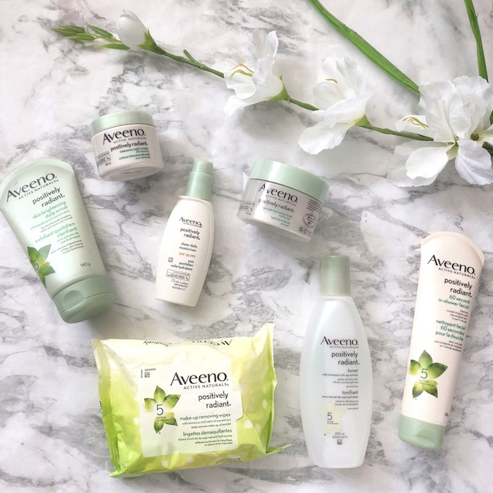 Positively Radiant with Aveeno