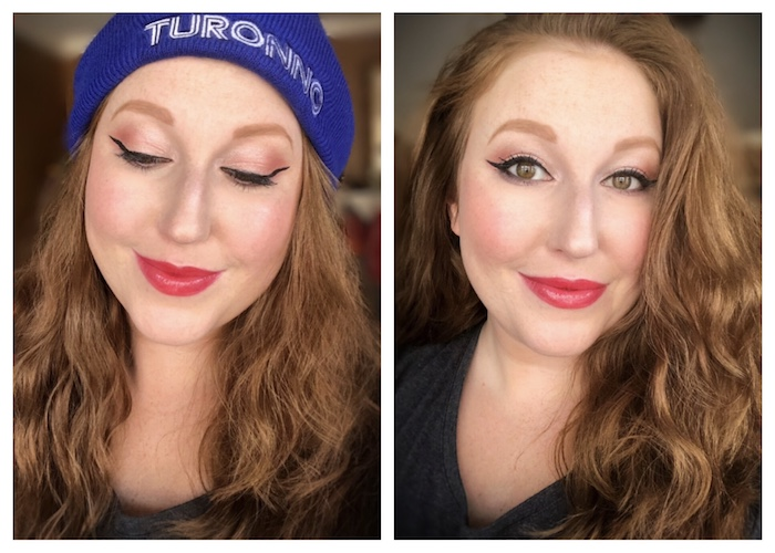 Holiday Makeup Looks - Frosted Peach | Toronto Beauty Reviews