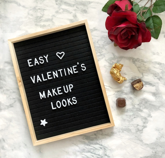 Easy Valentine's Makeup Looks