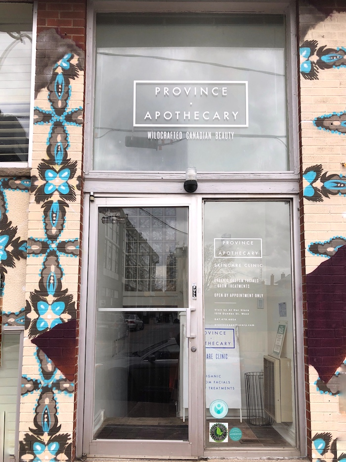 Trying Out an LED Facial at Province Apothecary - The PA Storefront | Toronto Beauty Reviews
