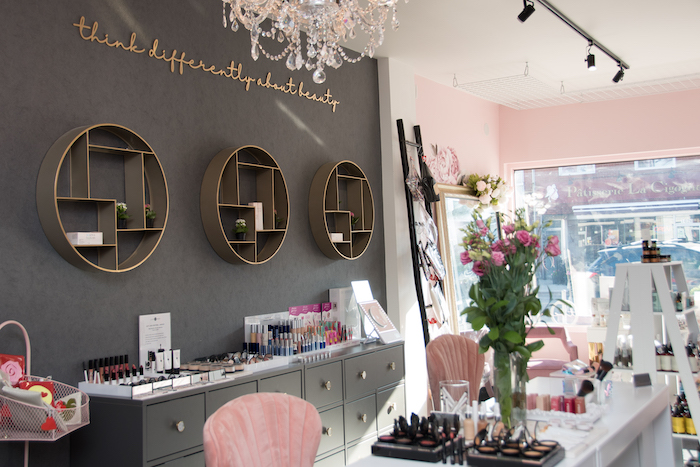 Bloom Beauty Store Interior