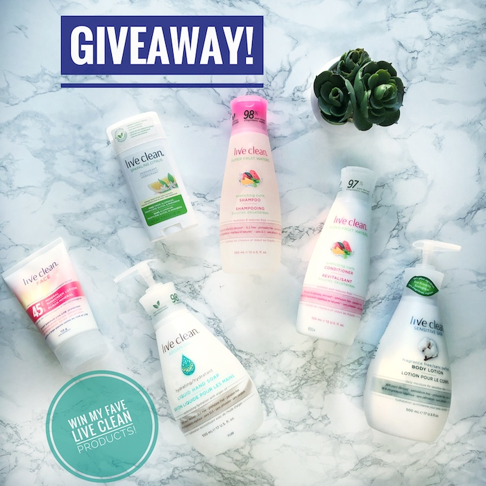 {Giveaway Closed} Maddie's Live Clean Faves