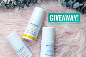 {Giveaway Closed} Apothekari Skincare Natural Deodorants!