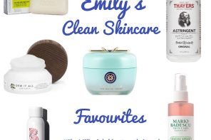 Clean Skincare Favourites