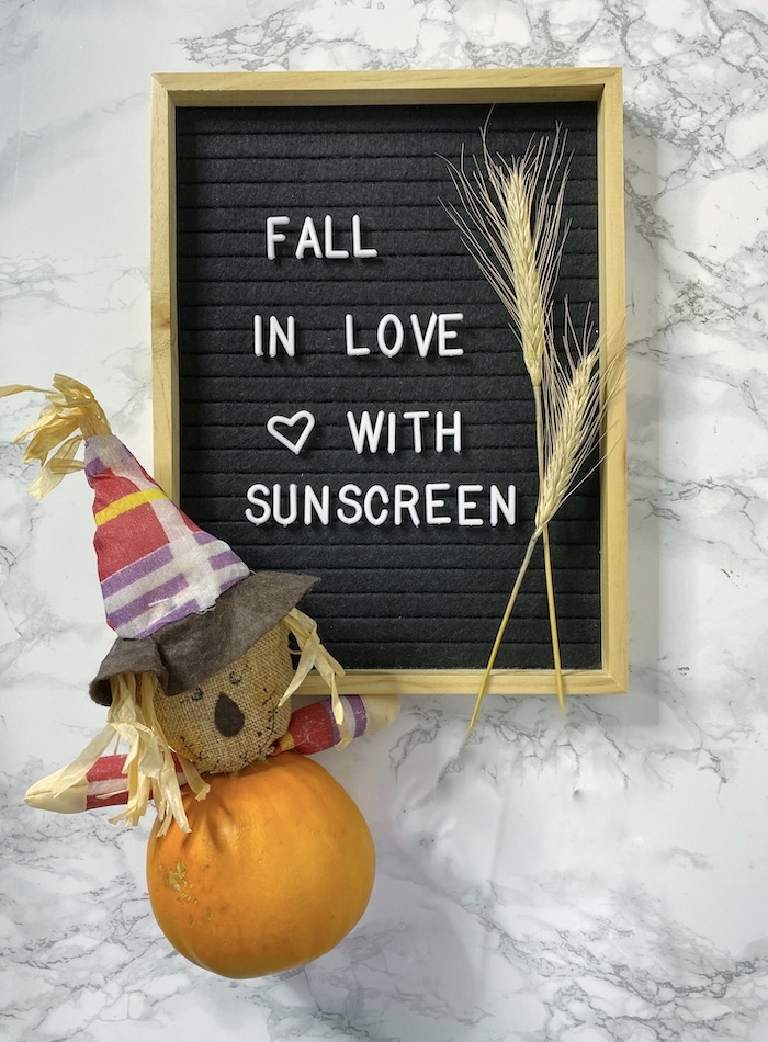 Fall in Love with Sunscreen