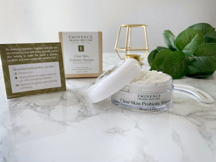 Éminence Clear Skin Probiotic Mask from BeautySense.ca   Toronto Beauty Reviews